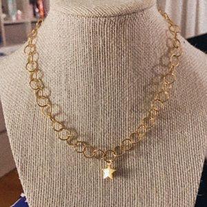 Gold Bubble chain choker ✰